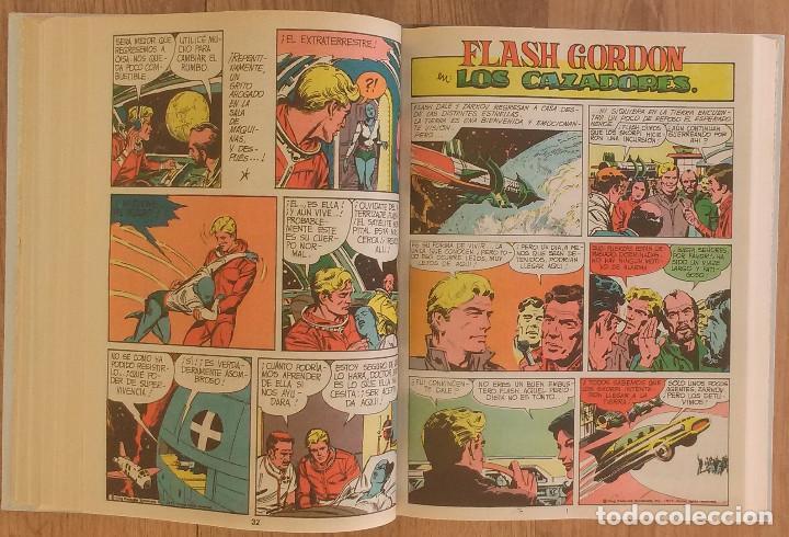 Tebeos: FLASH GORDON Tomo 1972 sin marcas de editoral 11 numeros - Foto 7 - 100302863