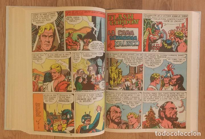 Tebeos: FLASH GORDON Tomo 1972 sin marcas de editoral 11 numeros - Foto 8 - 100302863