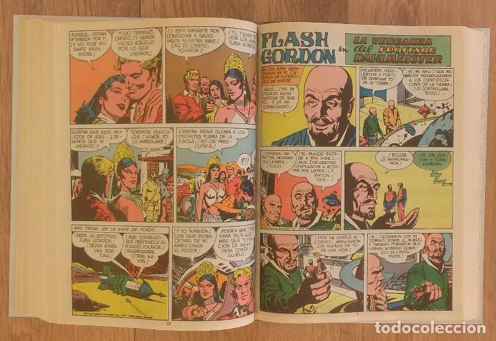 Tebeos: FLASH GORDON Tomo 1972 sin marcas de editoral 11 numeros - Foto 9 - 100302863