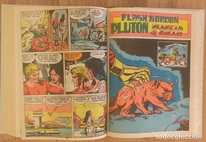 Tebeos: FLASH GORDON Tomo 1972 sin marcas de editoral 11 numeros - Foto 12 - 100302863