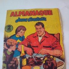 Tebeos: ALMANAQUE JUAN CENTELLA 1956 - HISPANO AMERICANA -. Lote 100307770