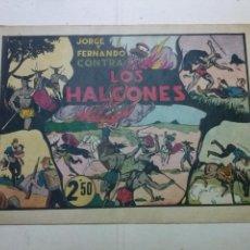 Tebeos: LAS GRANDES AVENTURAS, JORGE Y FERNANDO CONTRA LOS HALCONES ,EXTRA,HISPANO AMERICANA ,ORIGINAL 2,50. Lote 100921427