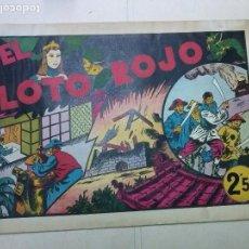 Tebeos: LAS GRANDES AVENTURAS,EL LOTO ROJO ,EXTRA,HISPANO AMERICANA,ORIGINAL 2,50. Lote 100926631