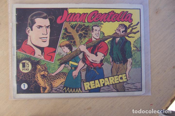 HISPANO AMERICANA,- JUAN CENTELLA 2ª ÉPOCA Nº 1-2-3-4-6-7-8-9-10-11-12-13-15-17-30, MAS PUBLICIT (Tebeos y Comics - Hispano Americana - Juan Centella)