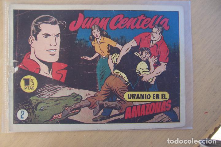 Tebeos: hispano americana,- juan centella 2ª época nº 1-2-3-4-6-7-8-9-10-11-12-13-15-17-30, mas publicit - Foto 3 - 101076167