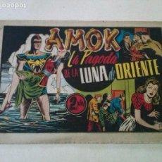Tebeos: AMOK Nº 4,LA PAGODA DE LA LUNA DE ORIENTE,HISPANO AMERICANA ,ORIGINAL. Lote 101302395