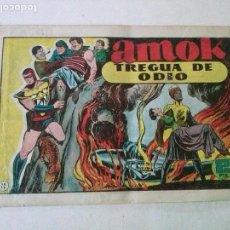 Tebeos: AMOK Nº 22 TREGUA DE FUEGO,HISPANO AMERICANA ,ORIGINAL. Lote 101303643