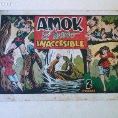 Tebeos: AMOK Nº 9 EL TESORO INACCESIBLE ,HISPANO AMERICANA ,ORIGINAL. Lote 101305399