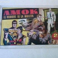 Tebeos: AMOK Nº 6 EL HOMBRE DE LA MULETA ,HISPANO AMERICANA ,ORIGINAL. Lote 101305523