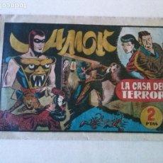 Tebeos: AMOK Nº 14 LA CASA DEL TERROR ,HISPANO AMERICANA ,ORIGINAL. Lote 101305847