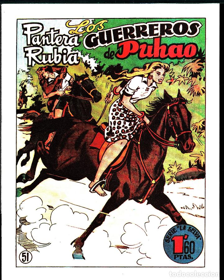 TEBEOS-COMICS GOYO - PANTERA RUBIA - Nº 51 - - LEER DESCRIPCION - - **AA99 (Tebeos y Comics - Hispano Americana - Otros)