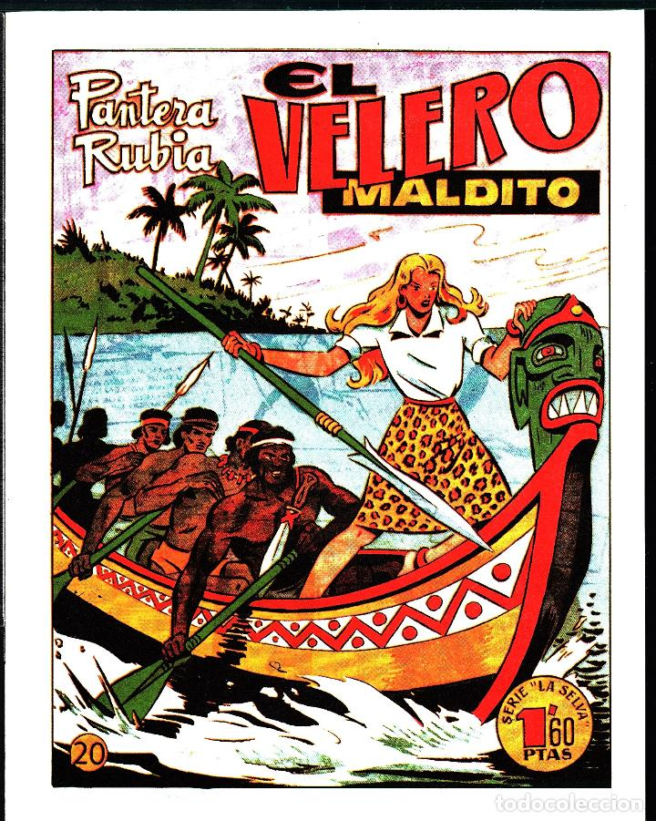 TEBEOS-COMICS GOYO - PANTERA RUBIA - Nº 20 - - LEER DESCRIPCION - - **AA99 (Tebeos y Comics - Hispano Americana - Otros)