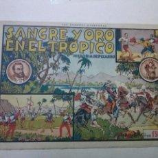 Tebeos: SANGRE Y ORO EN EL TROPICO , HISPANO AMERICANA,L.G.A.. Lote 101698791