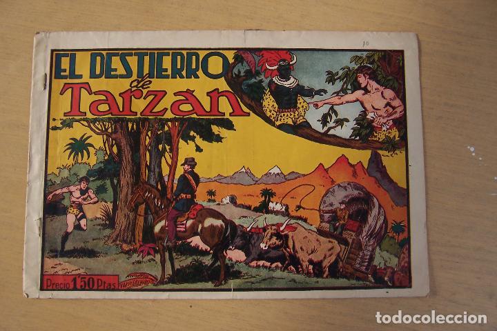 Tebeos: hispano americana - colección de tarzán, años 40, ver interior, - Foto 84 - 26004502