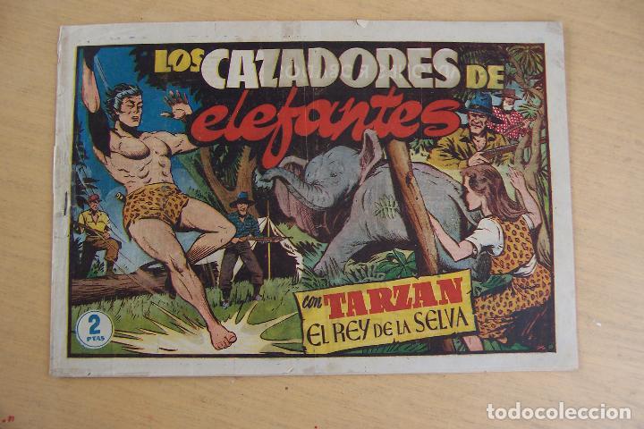 Tebeos: hispano americana - colección de tarzán, años 40, ver interior, - Foto 86 - 26004502