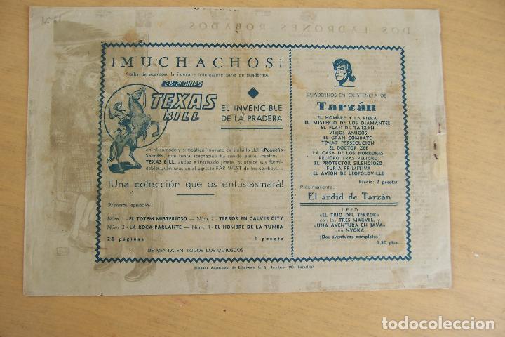 Tebeos: hispano americana - colección de tarzán, años 40, ver interior, - Foto 87 - 26004502