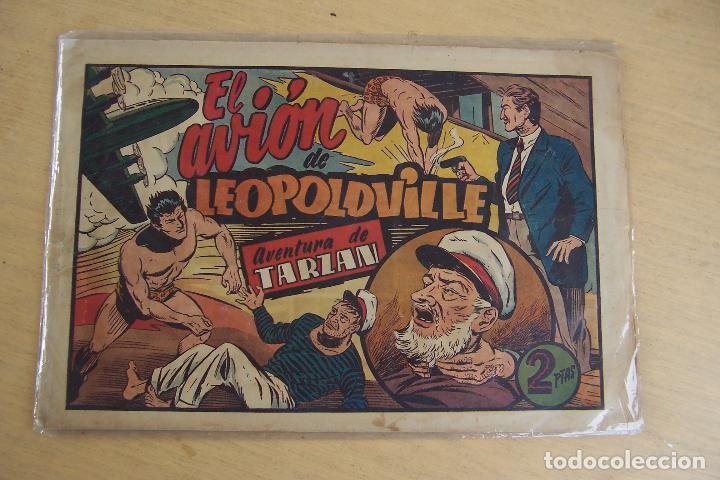 Tebeos: hispano americana - colección de tarzán, años 40, ver interior, - Foto 88 - 26004502
