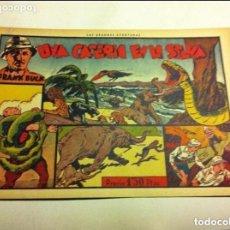 Tebeos: CAZANDO FIERAS VIVAS -Nº. 2 (UNA CACERÍA EN LA SELVA) - MUY BIEN CONSERVADO - SIN GRAPA. Lote 102667243