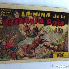 Tebeos: AVENTURAS DE JUAN Y LUIS (LA MINA DE LA QUEBRADA ROJA) - PICO ARRIBA PERO BIEN. Lote 102667423