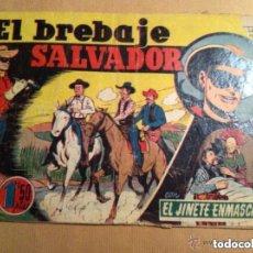 Tebeos: EL JINETE ENMASCARADO (LONE RANGER) - EL BREBAJE SALVADOR - LOMO ABIERTO Y ROTURA PORTADA. Lote 102668199