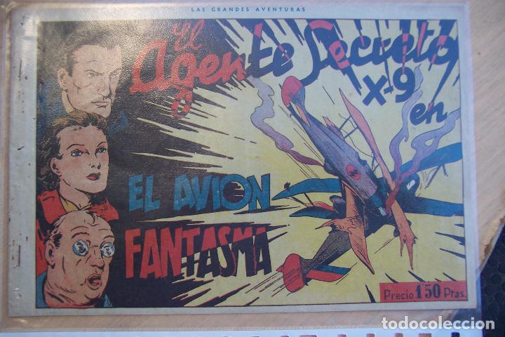 Tebeos: hispano americana. lote agente secreto x-9 formato grande los 14 que son - Foto 24 - 33145230