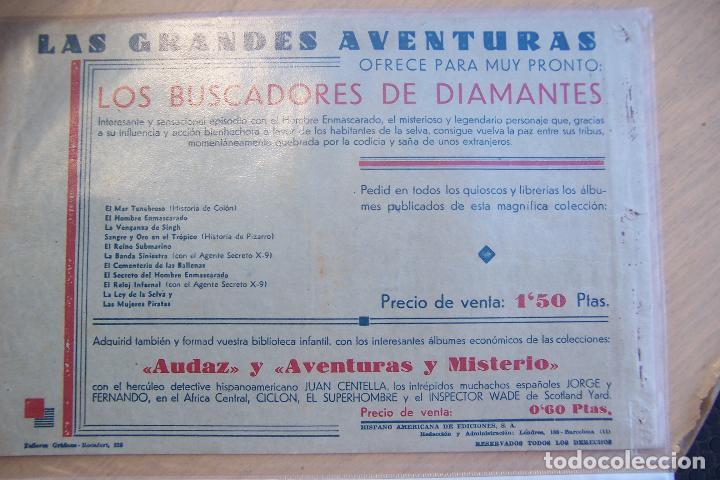 Tebeos: hispano americana. lote agente secreto x-9 formato grande los 14 que son - Foto 25 - 33145230