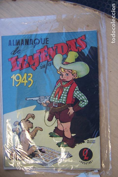Tebeos: hispano americana lote leyendas infantiles 84 al 182 y muestras de la 1º y 3ª ep.y almanaques - Foto 15 - 64073673