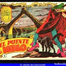 Tebeos: TEBEOS-COMICS CANDY - TIEMPOS HEROICOS - 8 - HISPANOAMERICANA - 1956 - 1ª EDICION RARO *UU99. Lote 103209851