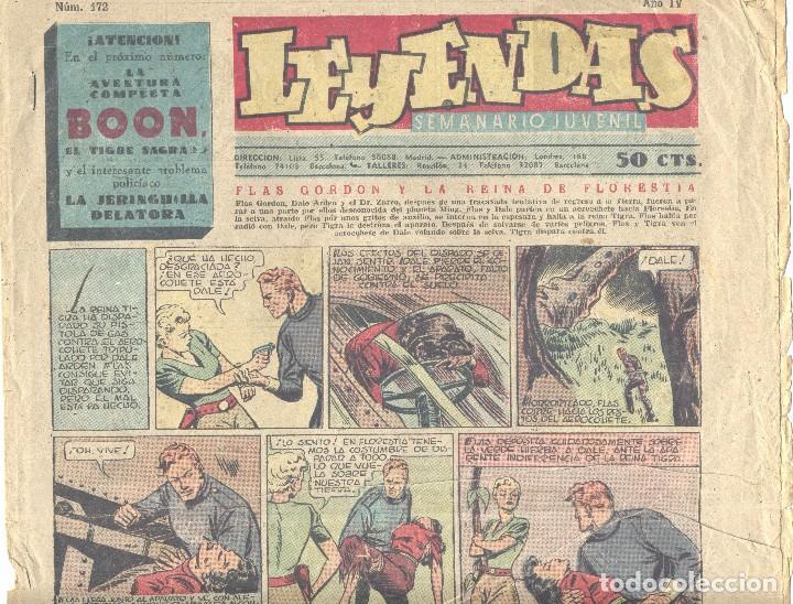 LEYENDAS Nº172 (Tebeos y Comics - Hispano Americana - Leyendas Infantiles)