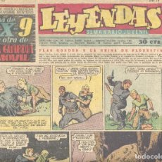 Tebeos: LEYENDAS Nº167. FLASH GORDON, TARZÁN, DICK NORTON, X-9, POPEYE, GUARDIA MÓVIL.... Lote 103973079