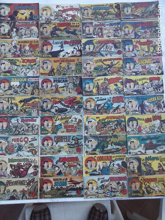 JORGE Y FERNANDO ORIGINAL 1949 - MUY BUEN ESTADO, 156 TEBEOS, VER IMAGENES (Tebeos y Comics - Hispano Americana - Jorge y Fernando)