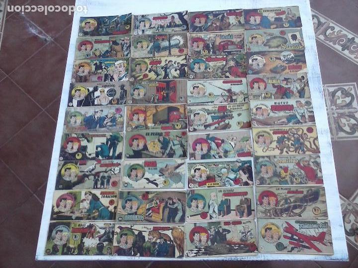 Tebeos: JORGE Y FERNANDO ORIGINAL 1949 - MUY BUEN ESTADO, 156 TEBEOS, VER IMAGENES - Foto 2 - 103987315