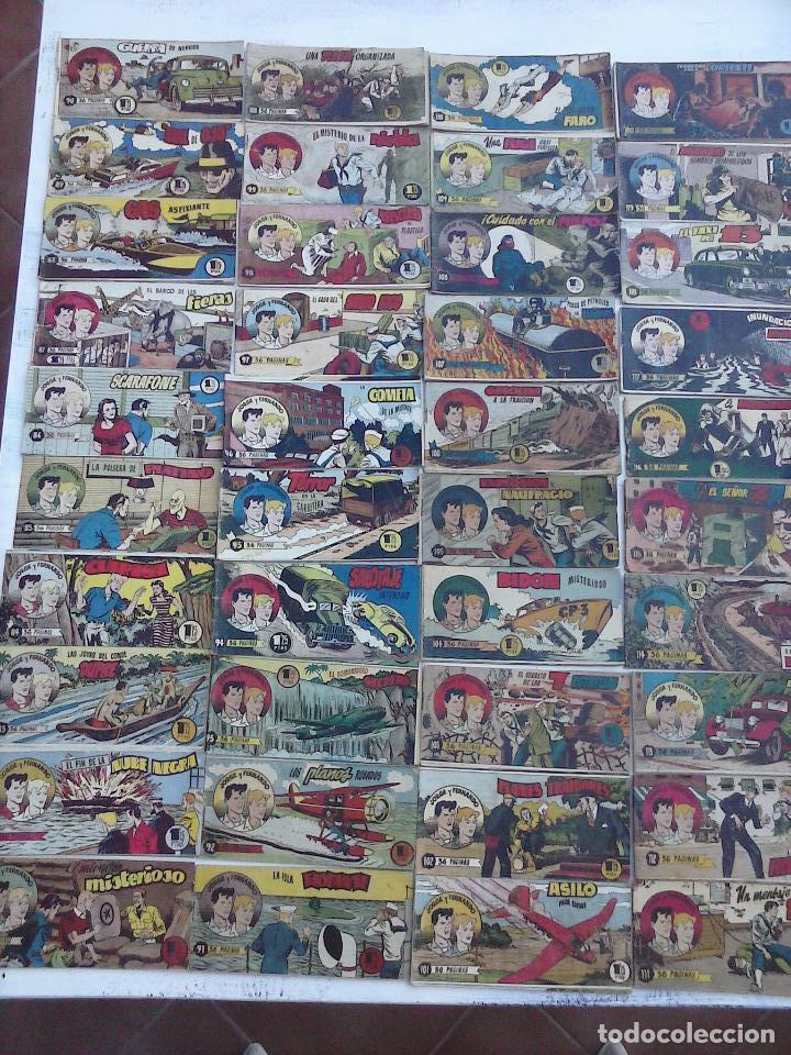 Tebeos: JORGE Y FERNANDO ORIGINAL 1949 - MUY BUEN ESTADO, 156 TEBEOS, VER IMAGENES - Foto 9 - 103987315