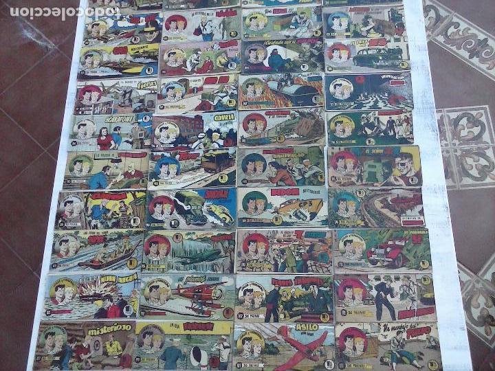 Tebeos: JORGE Y FERNANDO ORIGINAL 1949 - MUY BUEN ESTADO, 156 TEBEOS, VER IMAGENES - Foto 10 - 103987315