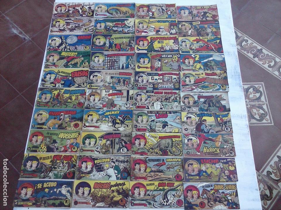 Tebeos: JORGE Y FERNANDO ORIGINAL 1949 - MUY BUEN ESTADO, 156 TEBEOS, VER IMAGENES - Foto 21 - 103987315