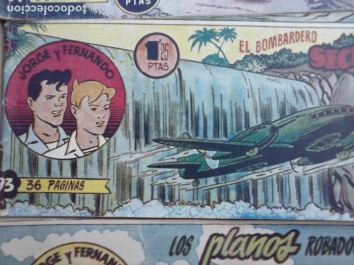 Tebeos: JORGE Y FERNANDO ORIGINAL 1949 - MUY BUEN ESTADO, 156 TEBEOS, VER IMAGENES - Foto 41 - 103987315