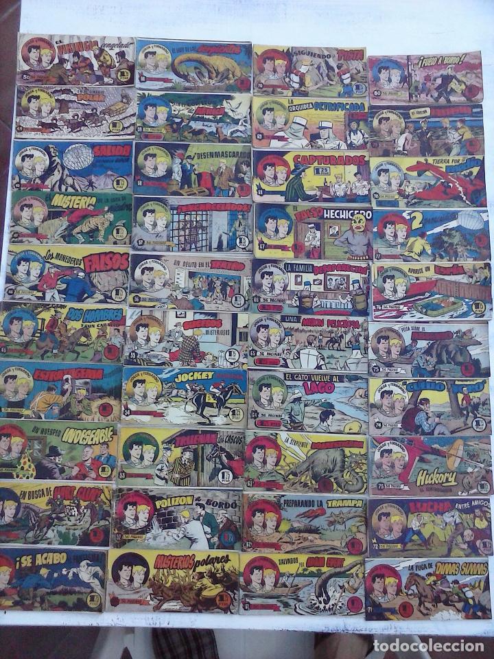 Tebeos: JORGE Y FERNANDO ORIGINAL 1949 - MUY BUEN ESTADO, 156 TEBEOS, VER IMAGENES - Foto 44 - 103987315