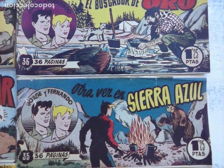Tebeos: JORGE Y FERNANDO ORIGINAL 1949 - MUY BUEN ESTADO, 156 TEBEOS, VER IMAGENES - Foto 51 - 103987315