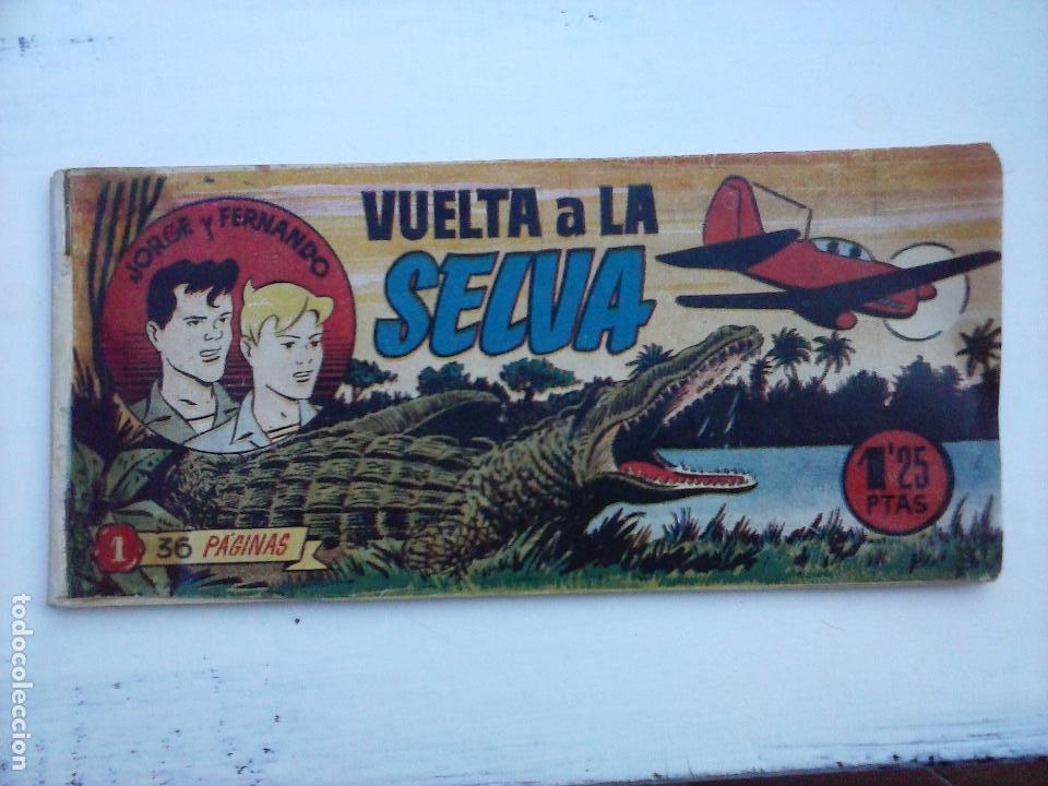 Tebeos: JORGE Y FERNANDO ORIGINAL 1949 - MUY BUEN ESTADO, 156 TEBEOS, VER IMAGENES - Foto 65 - 103987315