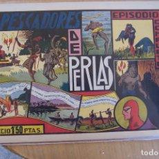 Tebeos: HISPANO AMERICANA LOTE EL HOMBRE ENMASCARADO, DE 1ª ÉPOCA 16 PÁGINAS MAS PORTADAS. Lote 104027655