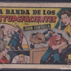 Tebeos: COMIC COLECCION JUAN CENTELLA LA BANDA DE LOS ESTUPEFACIENTES . Lote 104288615