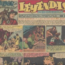 Tebeos: LEYENDAS Nº149. FLASH GORDON, TARZÁN, DICK NORTON, INSPECTOR WADE, GUARDIA MÓVIL, ALEX RAYMOND.... Lote 104394123