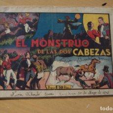 Tebeos: HISPANO AMERICANA,- MERLIN Nº 7 EL MONSTRUO DE LAS DOS CABEZA . Lote 104528059