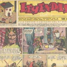 Tebeos: LEYENDAS 138. KING DE LA POLICÍA MONTADA, X-9, FLASH GORDON, TARZÁN, GUARDIA MÓVIL, INSPECTOR WADE... Lote 104645471