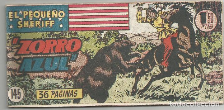 EL PEQUEÑO SHERIFF Nº 145 HISPANO AMERICANA DE EDICIONES (Tebeos y Comics - Hispano Americana - Otros)