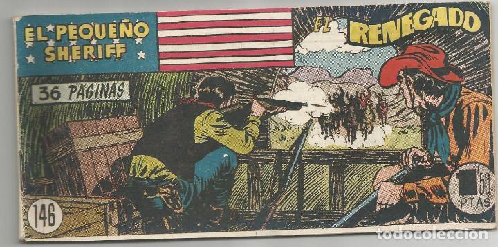 EL PEQUEÑO SHERIFF Nº 146 HISPANO AMERICANA DE EDICIONES (Tebeos y Comics - Hispano Americana - Otros)