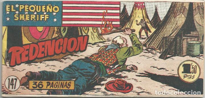 EL PEQUEÑO SHERIFF Nº 147 HISPANO AMERICANA DE EDICIONES (Tebeos y Comics - Hispano Americana - Otros)