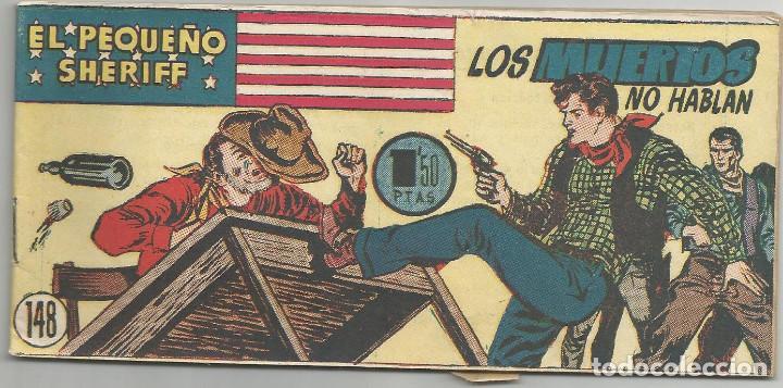 EL PEQUEÑO SHERIFF Nº 148 HISPANO AMERICANA DE EDICIONES (Tebeos y Comics - Hispano Americana - Otros)