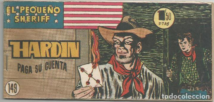 EL PEQUEÑO SHERIFF Nº 149 HISPANO AMERICANA DE EDICIONES (Tebeos y Comics - Hispano Americana - Otros)