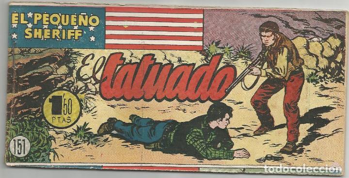 EL PEQUEÑO SHERIFF Nº 151 HISPANO AMERICANA DE EDICIONES (Tebeos y Comics - Hispano Americana - Otros)